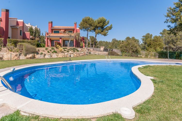 Costa Dorada Vakantiewoningen te huur Geweldig vakantie huis voor 9 personen in Miami Playa op de golfbaan met zwembad