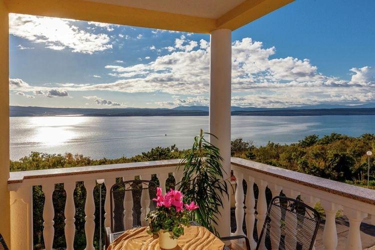 Kroatie | Kvarner | Appartement te huur in Dramalj met zwembad  met wifi 2 personen