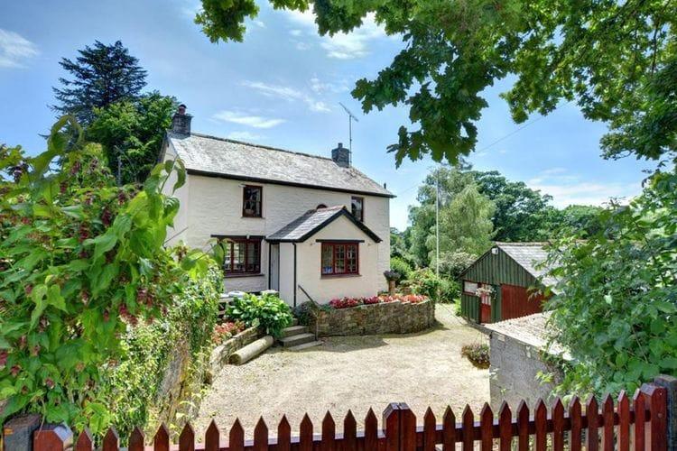 Devon Vakantiewoningen te huur Vrijstaand huis met landelijke uitstraling vlakbij de Lerryn en Fowey rivier