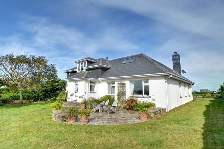 Vakantiewoning  met wifi  Padstow  Mooi, vrijstaand vakantiehuis met open haard en een grote tuin in Cornwall