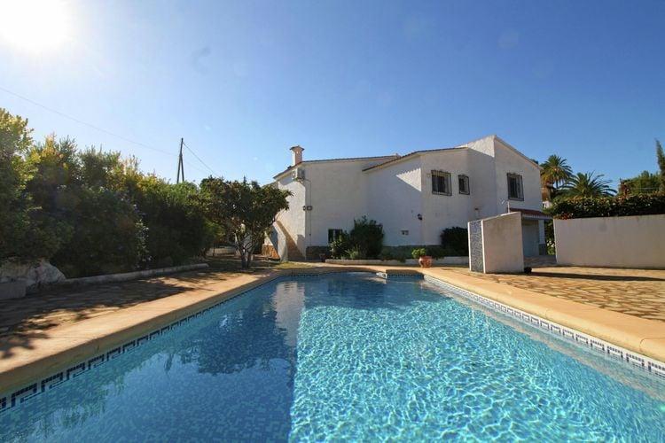 Vrijstaande villa met zwembad in Calpe prima voor families en gezinnen