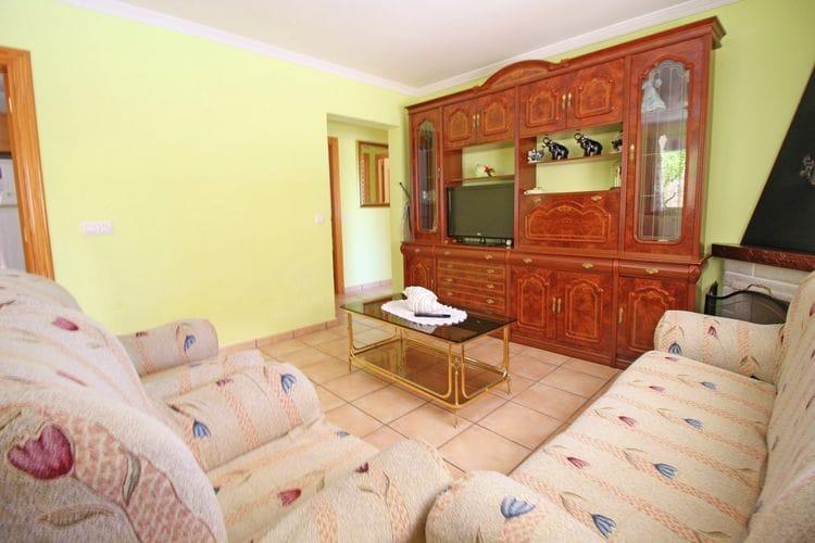 vakantiehuis Spanje, Costa Blanca, Calpe vakantiehuis ES-00007-81