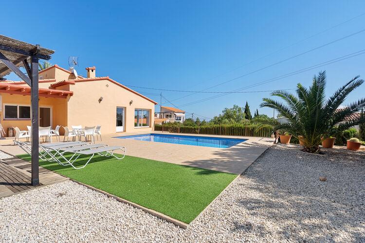 Vakantiehuizen Spanje | Costa-Blanca | Vakantiehuis te huur in Calpe met zwembad  met wifi 6 personen