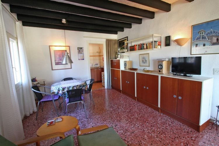 vakantiehuis Spanje, Costa Blanca, Calpe vakantiehuis ES-00007-83