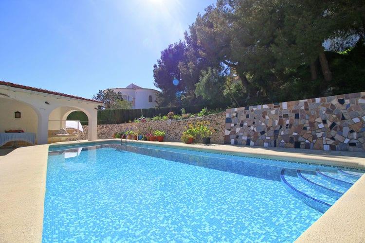vakantiehuis Spanje, Costa Blanca, Calpe vakantiehuis ES-00007-88