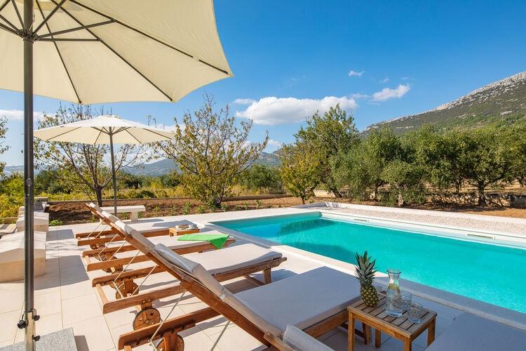 vakantiehuis Kroatië, Dalmatie, Kastel Luksic vakantiehuis HR-00003-27
