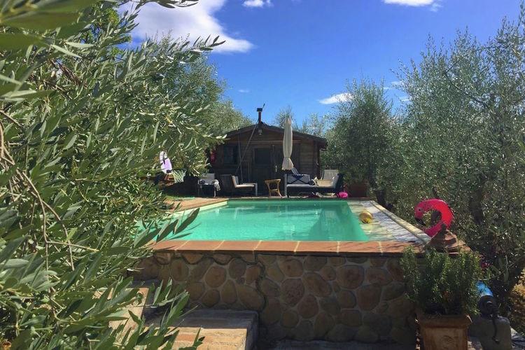 Vakantiehuis tussen de olijfbomen met panoramisch privézwembad
