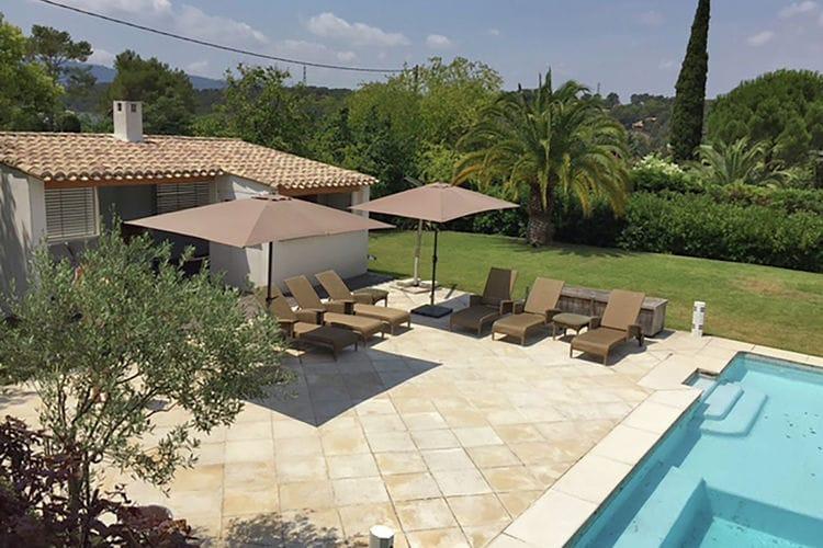 Villa huren in Mougins - met zwembad  met wifi met zwembad voor 12 personen  Perfect! Stijlvolle villa met groo..