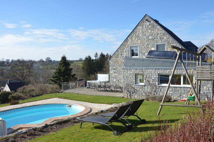 Vakantiehuizen Belgie | Luik | Villa te huur in Stavelot met zwembad  met wifi 13 personen