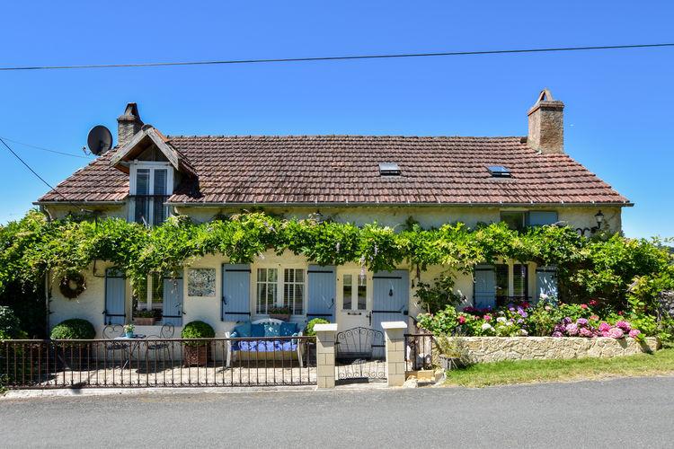 Vakantiehuis met zwembad met wifi  Villefranche-du-PerigordMaison Vue en Ciel