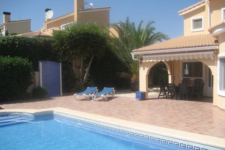 Charmante villa in een residentiële wijk met een privé zwembad