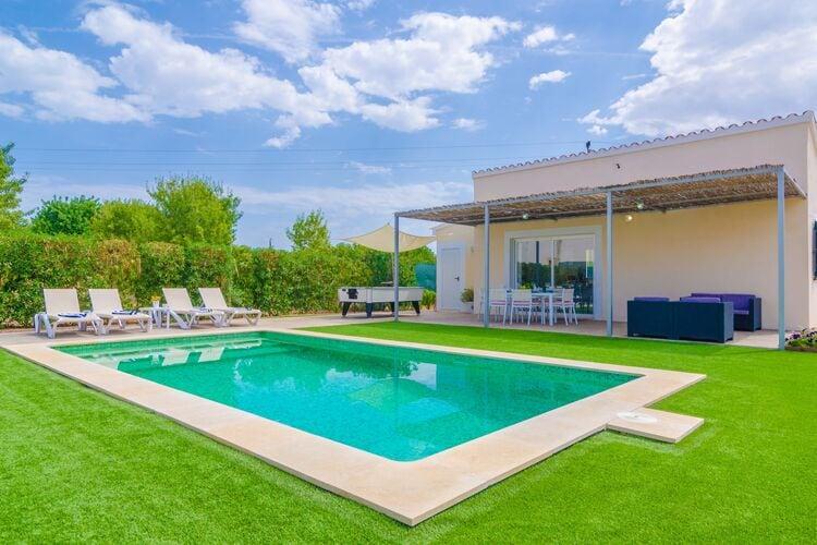 Vakantiehuizen Spanje | Mallorca | Villa te huur in Lloseta-Illes-Balears met zwembad  met wifi 4 personen