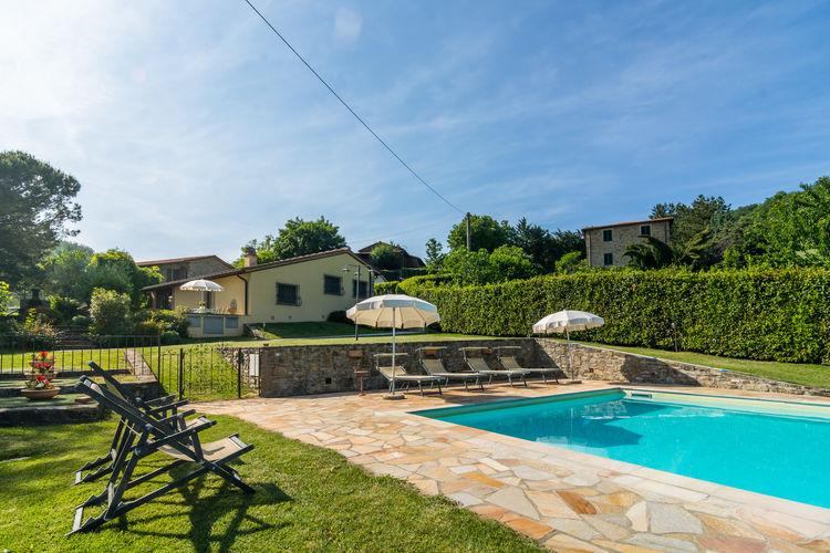 Italie / Toscana | Vakantiehuis met zwembad met wifi  - Dicomano  Gallorimpi