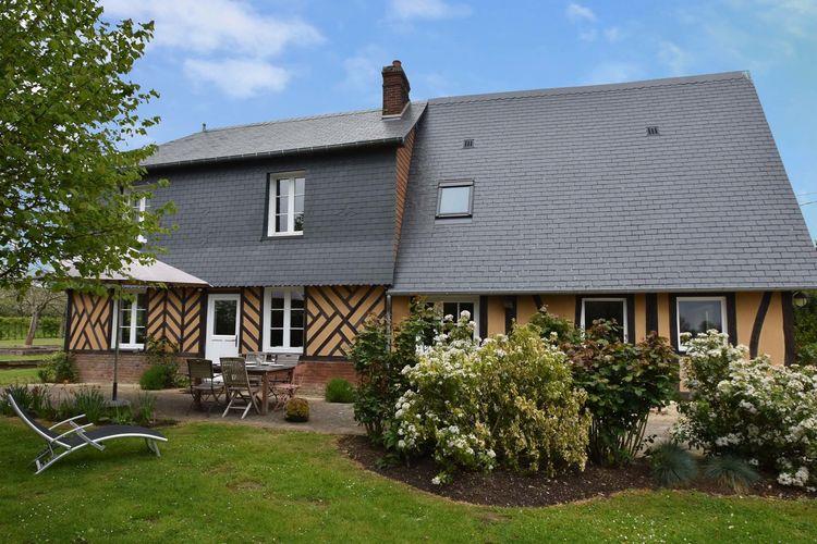 Normandie Vakantiewoningen te huur Prachtig, Normandische vakantiewoning met enorme tuin in alle rust gelegen