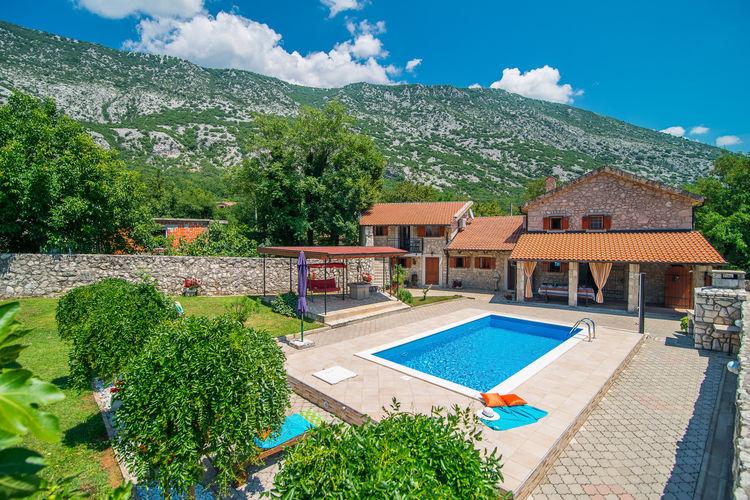 vakantiehuis Kroatië, Kvarner, Drivenik vakantiehuis HR-51242-01