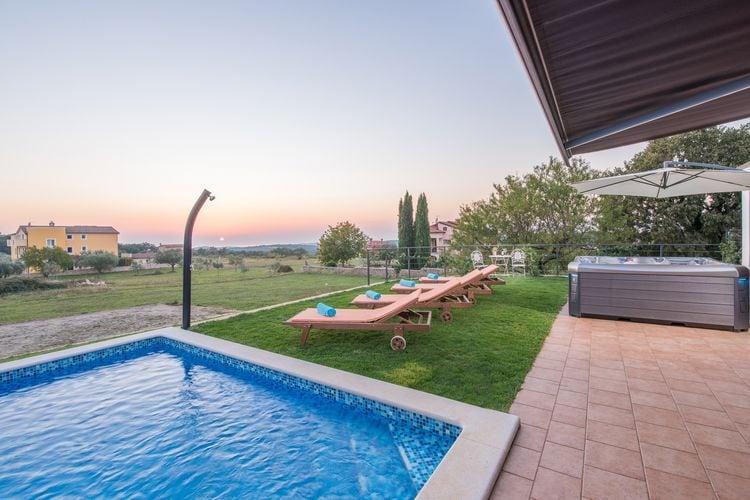 Villa Kroatië, Istrie, Rovinjsko Selo Villa HR-52210-38
