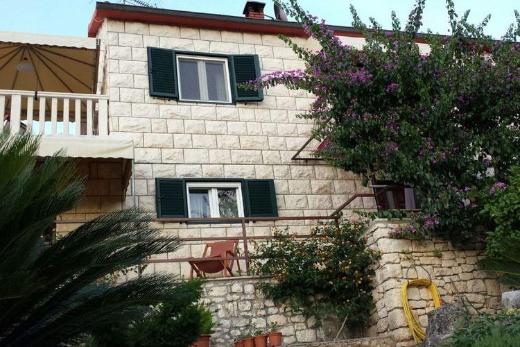 Vakantiewoning Kroatië, eld, Splitska, Postira Appartement HR-21410-08
