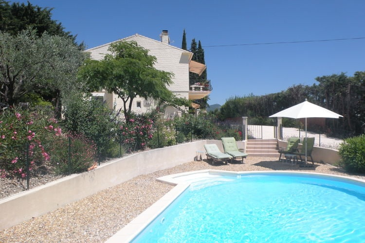 Vinsobres Vakantiewoningen te huur Prachtig appartement in nieuwe villa op 2m. van het centrum van Vinsobres