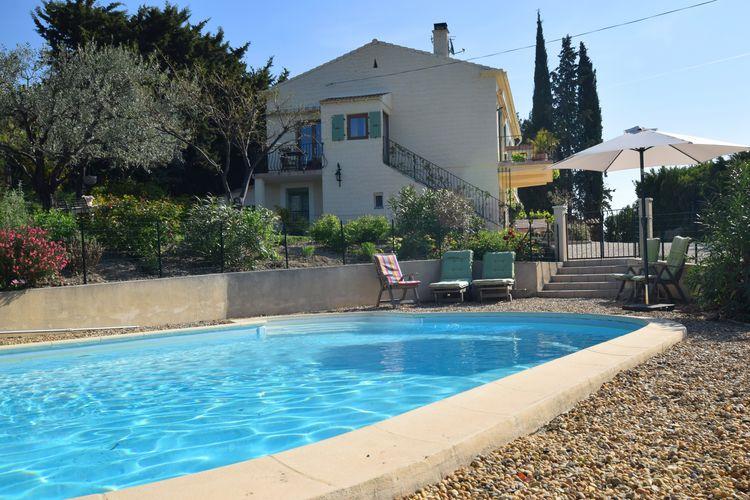 Vinsobres Vakantiewoningen te huur Prachtig appartement in villa in de Drome op 2m. van het wijndorpje Vinsobres