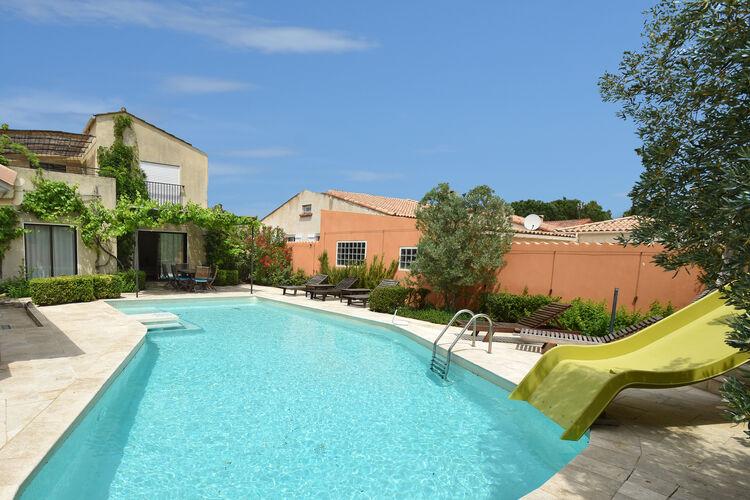 Frankrijk | Languedoc-roussillon | Villa te huur in Canet met zwembad  met wifi 10 personen