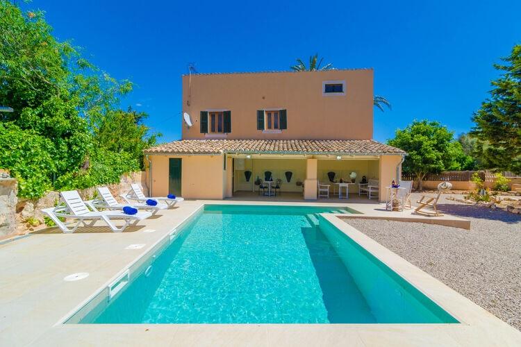 Vakantiehuizen Spanje   Mallorca   Villa te huur in Es-Palmer-campos-Illes-Balears met zwembad   8 personen