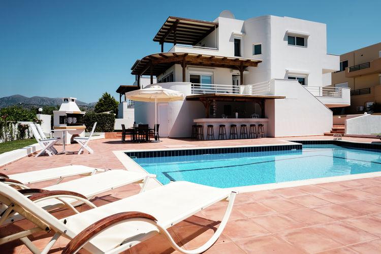 Griekenland | Kreta | Villa te huur in Sisi met zwembad  met wifi 6 personen