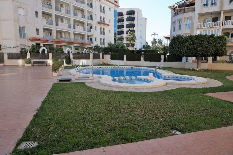 Appartement met zwembad met wifi  Costa BlancaAppartement Tulipan