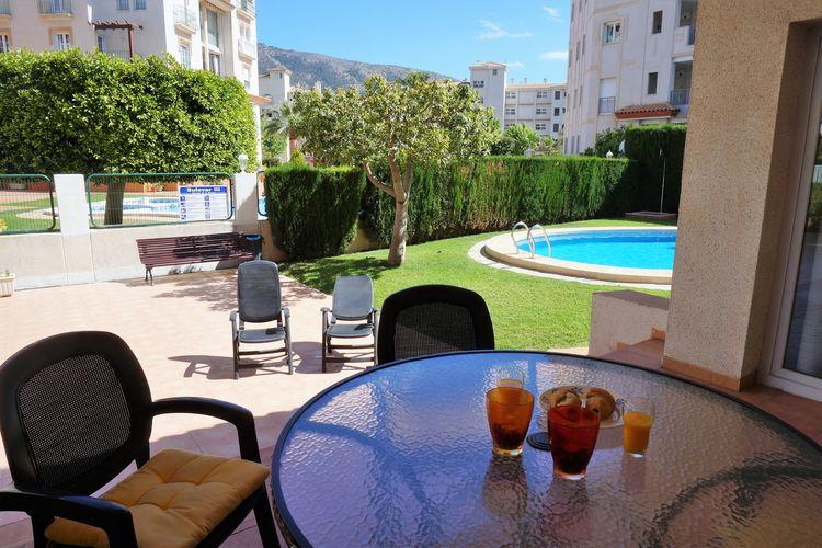 Appartement met zwembad met wifi  Costa BlancaAppartement Jazmin