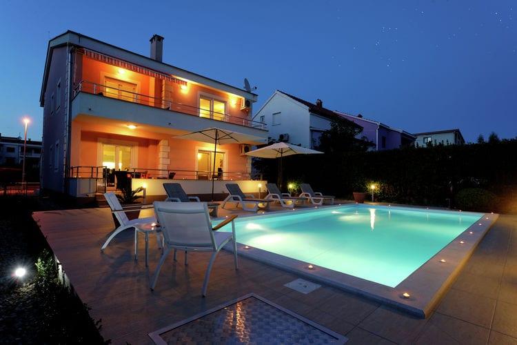 Kroatie | Dalmatie | Villa te huur in Zadar met zwembad  met wifi 4 personen