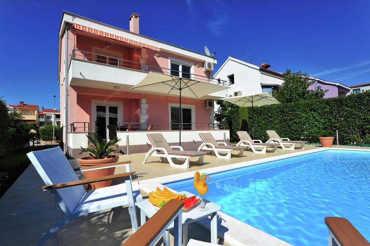 Villa Kroatië, Dalmatie, Zadar Villa HR-00003-90