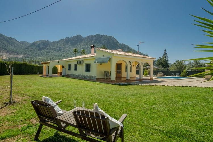 Spanje | Valencia | Villa te huur in Pla-de-Corrals-Simat-de-la-Valldigne-Valencia met zwembad aan zee met wifi 7 personen
