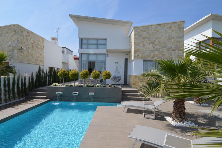 Vakantiehuizen Spanje | Costa-Blanca | Villa te huur in Ciudad-Quesada met zwembad  met wifi 6 personen