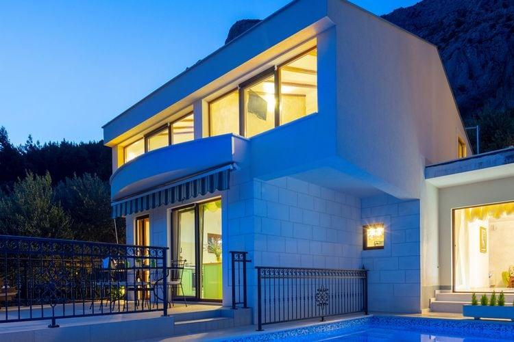 Vakantiehuizen Kroatie | Dalmatie | Villa te huur in Makarska met zwembad  met wifi 6 personen