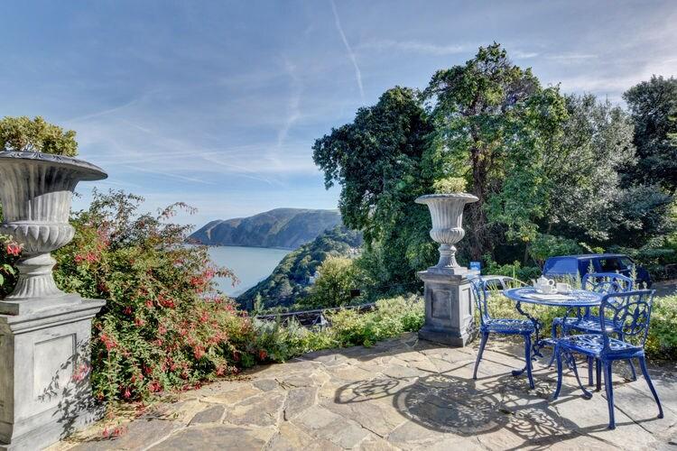 Groot-brittannie Villas te huur Prachtige historische villa op een heuvel met uizicht op de zee