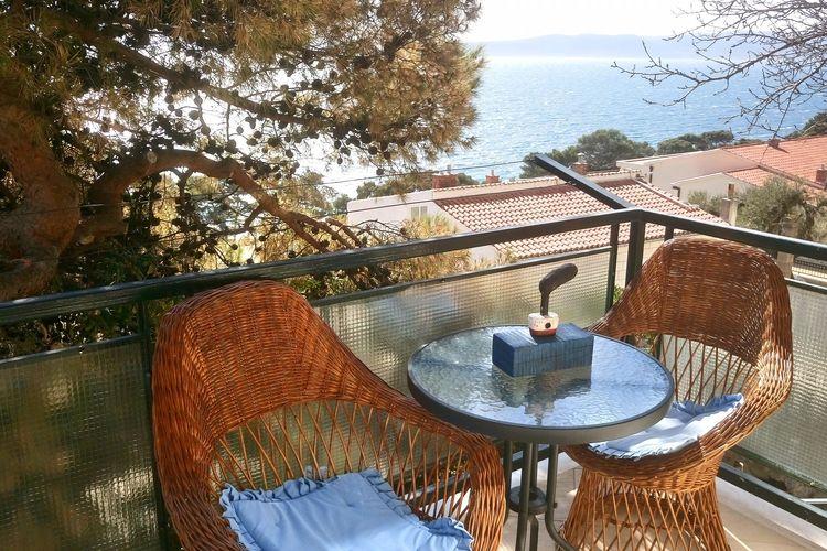 Appartement Kroatië, Dalmatie, Brela Appartement HR-21322-03