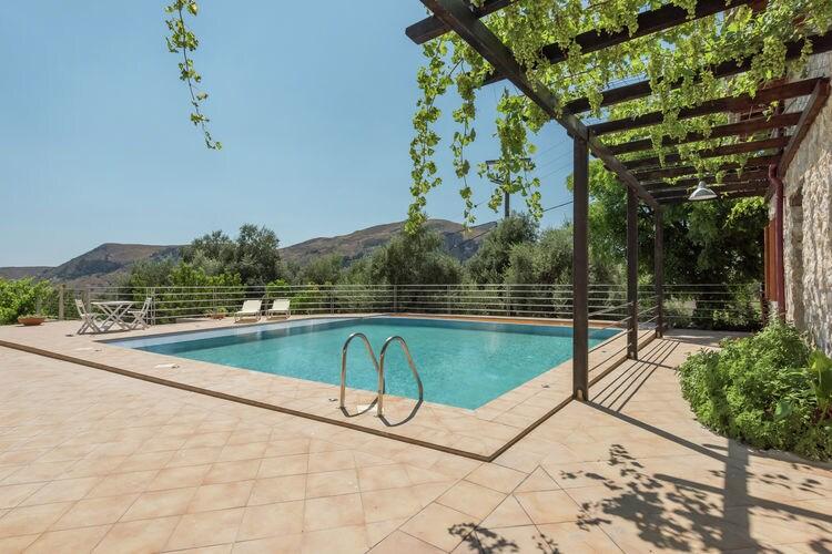 Villas  te huur Παλαιόχωρα- GR-73001-01 met zwembad  met wifi te huur