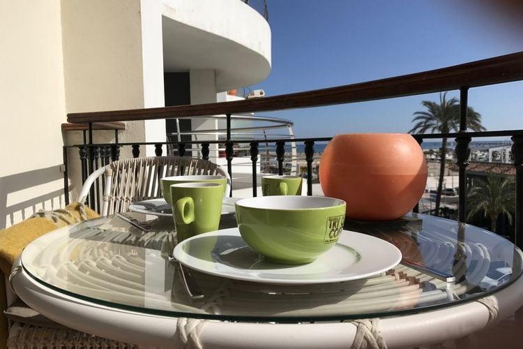 Vakantiehuizen Spanje | Costa-Blanca | Appartement te huur in Denia met zwembad  met wifi 4 personen