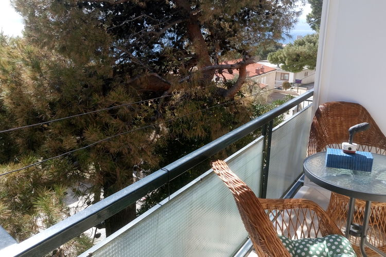 Appartement Kroatië, Dalmatie, Brela Appartement HR-21322-05