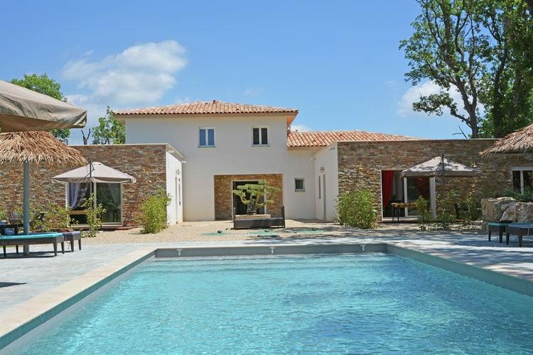 Villa met zwembad met wifi  MontaurouxVilla Contem 4