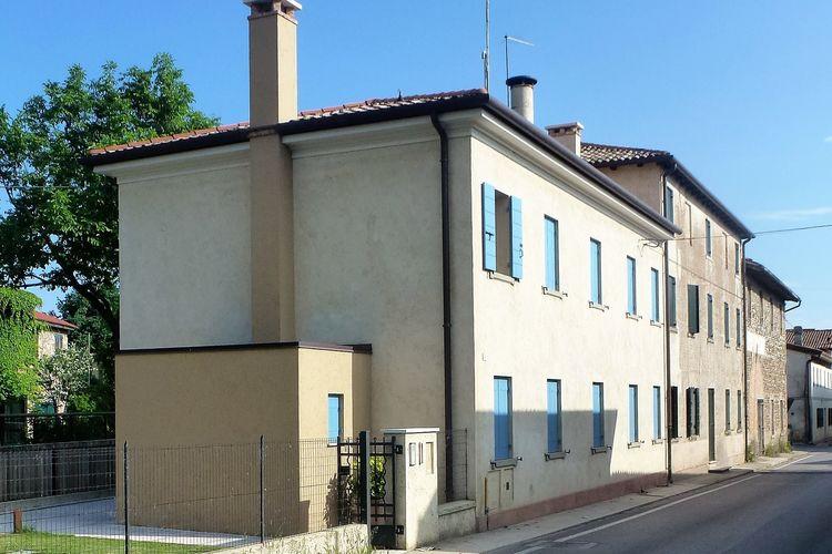Woning Italie | Veneto | Vakantiehuis te huur in Volpago-del-Montello   met wifi 6 personen