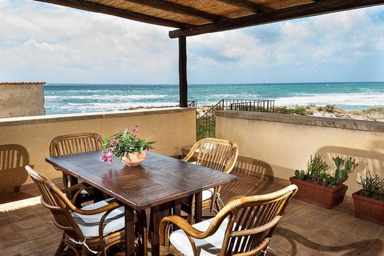 Italie / Sicilia | Villa  met wifi  - Marsala  Morena
