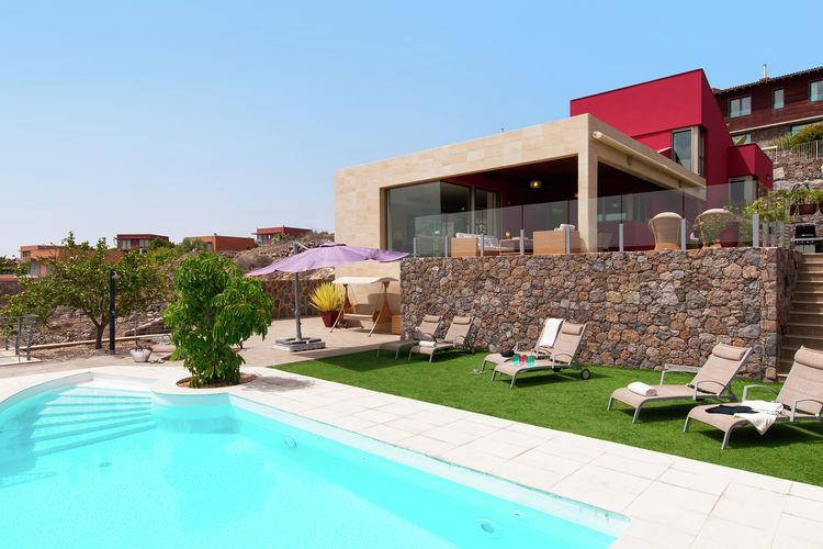 Vakantiehuizen Spanje | Grca | Villa te huur in San-Bartolome-de-Tirajana-Maspalomas-Gran-Canaria met zwembad  met wifi 8 personen