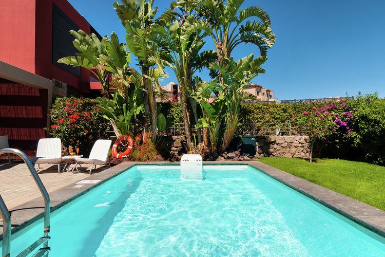 Villas Spanje | Grca | Villa te huur in San-Bartolome-de-Tirajana-Gran-Canaria met zwembad  met wifi 4 personen