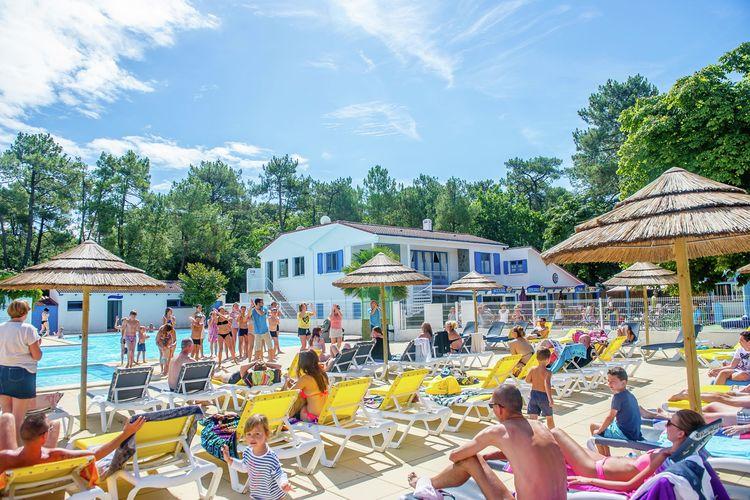 Vakantiehuizen Frankrijk | Cote-Atlantique | Sta caravan te huur in Longevuille-sur-Mer   met wifi 5 personen