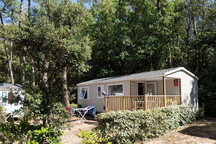 Frankrijk | Cote-Atlantique | Sta caravan te huur in Longevuille-sur-Mer   met wifi 5 personen