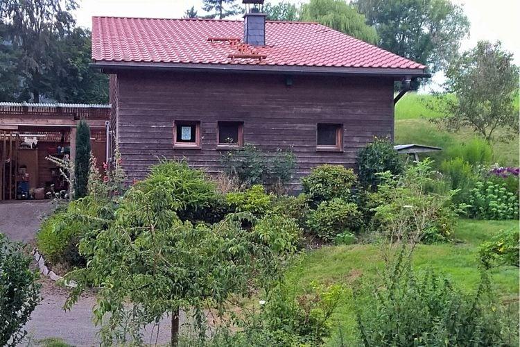 Mansfeld Möllendorf Vakantiewoningen te huur Biologisch en ecologisch - vakantiehuisje op een rustige locatie in de zuidoostelijke Harz
