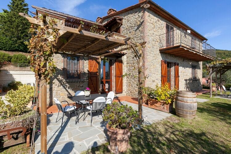 Vakantiehuizen Italie | Umbrie | Villa te huur in Lisciano-Niccone met zwembad  met wifi 8 personen