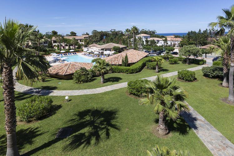 Vakantiehuizen Frankrijk | Corse | Appartement te huur in LINGUIZETTA met zwembad  met wifi 8 personen