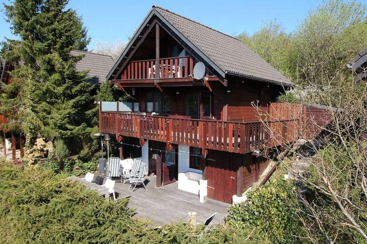 Vakantiehuizen Belgie | Luxemburg | Chalet te huur in Dochamps met zwembad  met wifi 6 personen