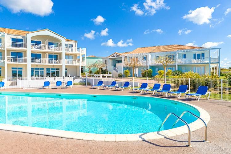 Appartement met zwembad met wifi  Cote AtlantiqueL